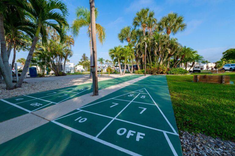 Belle Harbor rv shuffleboard