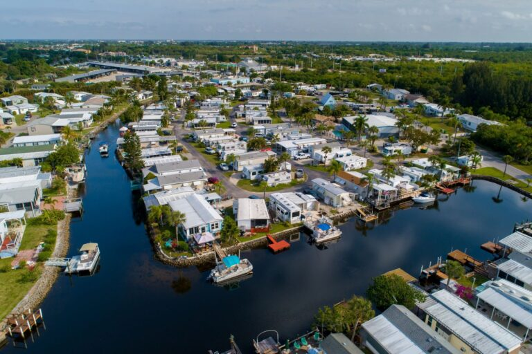 Belle Harbor rv meandering waterway community